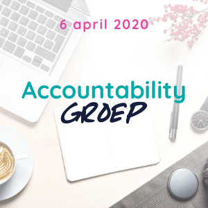 Accountability groep april 2020